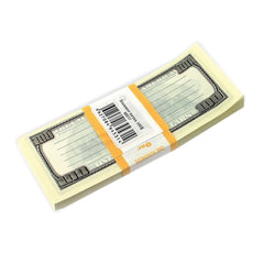 "Блок для записей ""100 долларов"", проклеенный, 15х6х1 см"