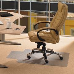 Коврик защитный для ковровых напольных покрытий, износостойкий, FLOORTEX, с выступом, 90х120 см, толщина 2,2 мм