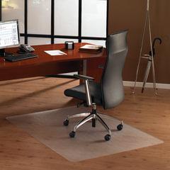 Коврик защитный для твердых напольных покрытий, сверхпрочный, FLOORTEX, прямоугольный, 89х119 см, толщина 1,9 мм
