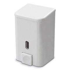 Диспенсер для жидкого мыла PRIMA NOVA, НАЛИВНОЙ, белый, 1 л, SD03, ш/к 01407