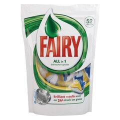 """Средство для мытья посуды в посудомоечных машинах FAIRY (Фейри) """"All in 1"""", 52 шт., капсулы"""