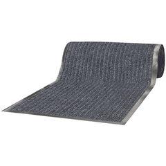 Коврик входной ворсовый влаго-грязезащитный VORTEX, 90х1500 см, толщина 7 мм, серый