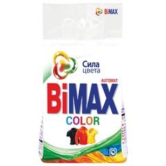 """Стиральный порошок-автомат 3 кг, BIMAX (Бимакс) """"Color"""""""