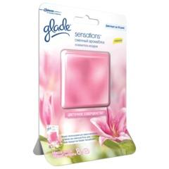 """Освежитель воздуха GLADE """"Sensations"""", сменный аромаблок 8 г, """"Цветочное совершенство"""""""