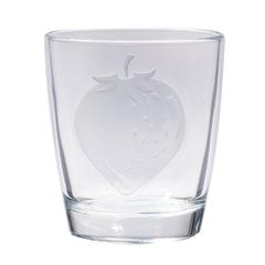 """Стакан для сока """"Fruity Energy"""", 250 мл, низкий, стекло, клубника, LUMINARC"""