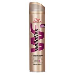 """Лак для волос 250 мл, WELLAFLEX (Веллафлекс) """"Суперсильная фиксация"""""""