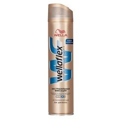 """Лак для волос WELLAFLEX (Веллафлекс), 250 мл, """"Экстрасильная фиксация"""""""