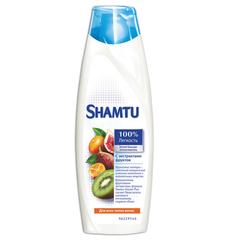 """Бальзам-ополаскиватель 380 мл, SHAMTU (Шамту) """"С экстрактами фруктов"""", для нормальных волос"""