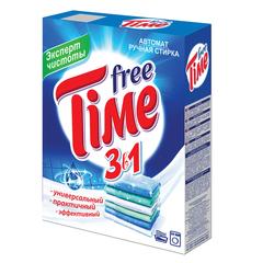 """Стиральный порошок для всех типов стирки, 350 г, FREE TIME (Фри Тайм) 3 в 1 """"Универсал"""""""