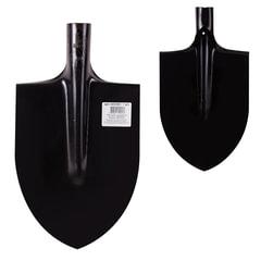 Лопата штыковая остроконечная, 21х28,5 см, закаленная, качество по ГОСТ, сталь 1,6 мм, без черенка