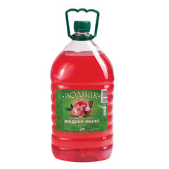 """Мыло жидкое 2 л, ЗОДИАК, перламутровое, """"Роза"""""""