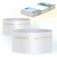 Бандероли кольцевые, комплект 500 шт., номинал 100 евро