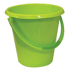 Ведро 11 л, IDEA, без крышки, пластиковое, пищевое, цвет салатовый