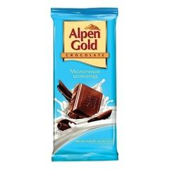 Шоколад ALPEN GOLD молочный, 90 г