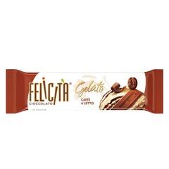 """Шоколад FELICITA (Феличита) """"Gelato"""", молочный со вкусом сливочно-кофейного мороженого, 48 г"""