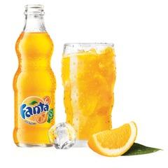 Напиток газированный FANTA (Фанта), 0,25 л, стеклянная бутылка