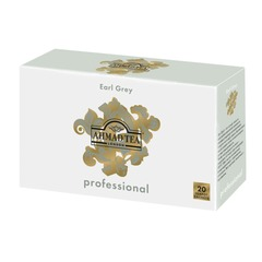 """Чай AHMAD (Ахмад) """"Earl Grey"""" Professional, черный с бергамотом, 20 пакетиков для чайника по 5 г"""