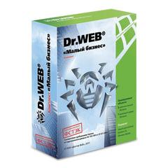 Антивирус DR. WEB «Малый бизнес», 5 ПК, 1 год, бокс
