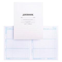 Дневник БЕЛЫЙ, HATBER, обложка мелованный картон