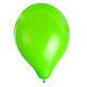 """Шары воздушные ZIPPY (ЗИППИ) 10"""" (25 см), комплект 50 шт., неоновые зеленые, в пакете, 104184"""