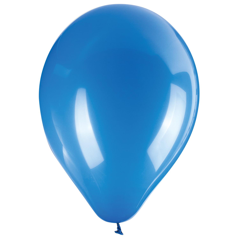 """Шары воздушные ZIPPY (ЗИППИ) 12"""" (30 см), комплект 50 шт., синие, в пакете, 104188"""