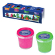 Пластилин на растительной основе (тесто для лепки) STAEDTLER, 4 цвета, 520 г, (оранжевый, розовый, зеленый, фиолетовый), 8134 02