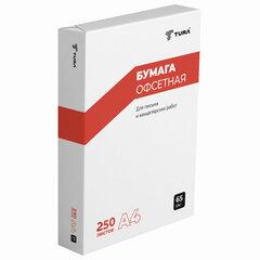 Бумага писчая Туринск, А4, 65 г/м2, 250 л., Россия, белизна 94% (ISO)