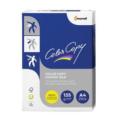 Бумага COLOR COPY SILK, мелованная, матовая, А4, 135 г/м2, 250 л., для полноцветной лазерной печати, А++, Австрия, 139% (CIE)