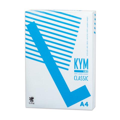 """Бумага офисная А4, класс """"C"""", KYM LUX CLASSIC, 80 г/м2, 500 л., Финляндия, белизна 150% (CIE)"""