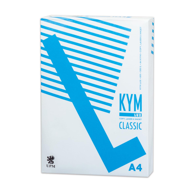 Бумага офисная KYM LUX CLASSIC, А4, 80 г/м2, 500 л., марка С, Финляндия, белизна 150%
