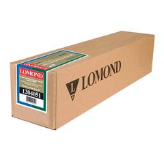 Рулон для плоттера (фотобумага), 610 мм х 20 м х втулка 50,8 мм, 85 г/м2, самоклеящееся, глянцевое покрытие LOMOND, 1204051