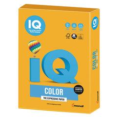 Бумага цветная IQ color, А4, 160 г/м2, 250 л., тренд, старое золото, AG10