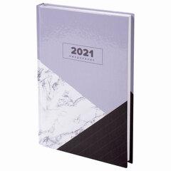 """Ежедневник датированный 2021 А5 (145х215 мм), ламинированная обложка, STAFF, """"Стиль"""", 111821"""