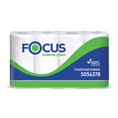 Бумага туалетная, спайка 8 шт., 2-слойная (8х16,2 м) Focus Economic Choice, белая, 5056378