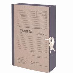 """Папка архивная А4 """"Форма 21"""", 80 мм, переплетный картон/бумвинил, ГИБКИЙ КОРЕШОК, до 800 л., STAFF, 112164"""