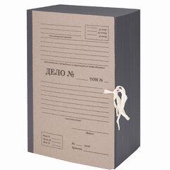 """Папка архивная А4 """"Форма 21"""", 150 мм, переплетный картон/бумвинил, ГИБКИЙ КОРЕШОК, до 1500 л., STAFF, 112166"""