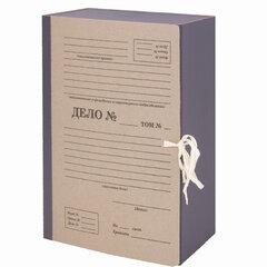 """Папка архивная А4 """"Форма 21"""", 120 мм, переплетный картон/бумвинил, завязки, до 1200 л, STAFF, 112168"""