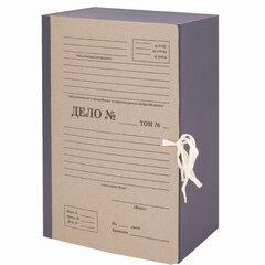 """Папка архивная А4 """"Форма 21"""", 150 мм, переплетный картон/бумвинил, завязки, до 1500 л., STAFF, 112169"""