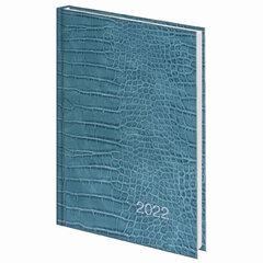"""Ежедневник датированный 2022 (145х215 мм), А5, STAFF, ламинированная обложка, """"Crocodile"""", 113345"""