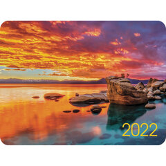 "Календарь карманный на 2022 год, 70х100 мм, ""Пейзажи"", HATBER, Кк7"