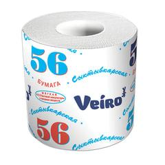 "Бумага туалетная бытовая, 39 м, VEIRO (Вейро) ""Сыктывкарский стандарт"", на втулке"