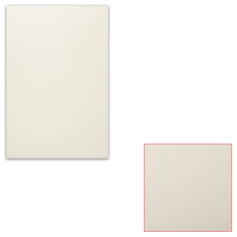 Картон белый грунтованный для масляной живописи, 20х30 см, односторонний, толщина 1,25 мм, масляный грунт