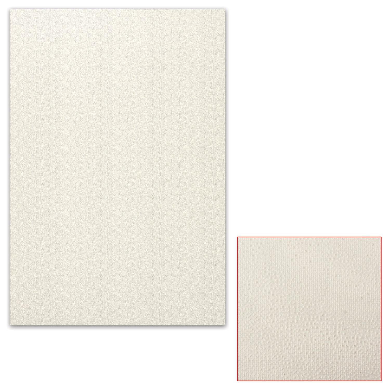 Картон белый грунтованный для масляной живописи, 35х50 см, односторонний, толщина 1,25 мм, масляный грунт