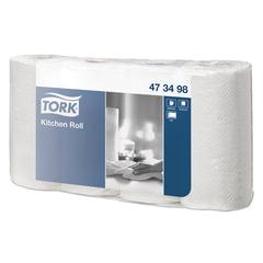 Полотенце бумажное TORK, 2-х слойное, спайка 4 шт. х 20,4 м, Advanced, белое, 473498