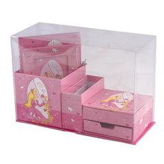 """Блокнот 7БЦ, А6+, 56 л., фоторамка+блок для записи, подарочная упаковка, BRAUBERG """"Принцесса"""", 110х150 мм"""