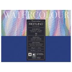 Альбом для акварели FABRIANO Watercolour Studio среднее зерно, 12 л, 300 г/м2, А3+, 360х480 мм