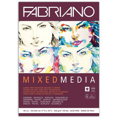 Альбом для рисования FABRIANO Mixed Media мелкое зерно, 40 л., 250 г/м2, А3, 297х420 мм