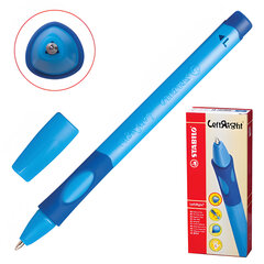 """Ручка шариковая STABILO """"Left Right"""", СИНЯЯ, для левшей, корпус синий, узел 0,8 мм, линия письма 0,4 мм, 6318/1-10-41"""