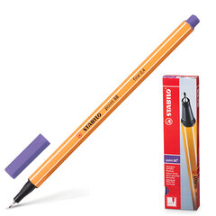 """Ручка капиллярная STABILO """"Point"""", толщина письма 0,4 мм, фиолетовая"""