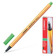 """Ручка капиллярная STABILO """"Point"""", корпус оранжевый, толщина письма 0,4 мм, цвет листвы"""